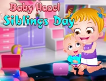 baby hazel siblings day